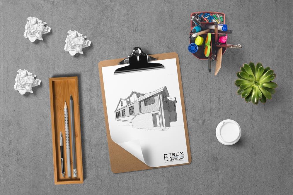 Box Design Studio Concept Design